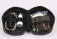 14PCS Pouch Bag 12GA .22 .243 .270 .308 CAL Gun Cleaning Cleaner Kit For Rifle