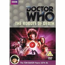 Doctor Who The Robots Of Death (Special edition) Brand New and Sealed