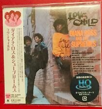 SUPERB RARE JAPANESE CARD IMPORT DIANA ROSS AND THE SUPREMES LOVE CHILD + OBI