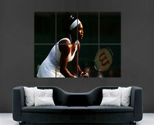 SERENA WILLIAMS POSTER TENNIS PLAYER SPORT LEGENDS FEMALE WOMENS GAME SPORTS