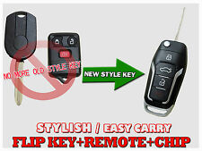 New Style FORD EDGE F150 Escape Flip Transponder Chip Entry Key Remote Fob KF2