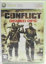 jeu CONFLICT DENIEDS OPS pour xbox 360 francais game spiel juego gioco complet