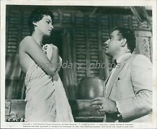 1958 This Angry Age Original Press Photo Anthony Perkins Richard Conte