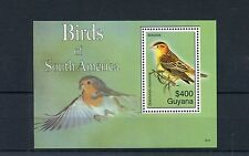 Guyana 2006 MNH Birds of South America 1v S/S I Bobolink