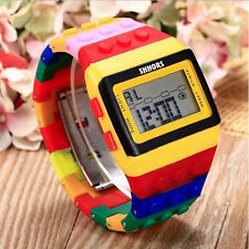 2015 Unisex Sports Watch Unisex Colorful Electronic Digital Wrist Watch