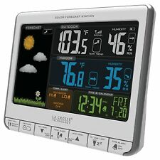 La Crosse Technology (308-1412S) Color LCD Wireless Weather Station, NEW