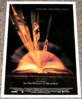 IN THE MOUTH OF MADNESS 1994 ORIGINAL 13x20 MOVIE POSTER! JOHN CARPENTER HORROR!