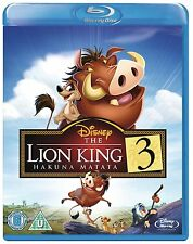 Lion King 3 Hakuna Matata Blu-Ray Disney BRAND NEW FREE SHIPPING