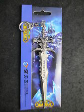 WorId of Warcraftt Arthas Menethil Lich King Frostmourne Sword with Keychain