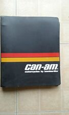 Vintage 1975-76 Can Am Bombardier Motorcycle Service Shop Manual