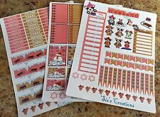 Winter weekly planner stickers, Fits Erin Condren, Happy planners, calendars