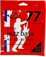 Rotosound RS77LD MONEL FLATWOUND JAZZ BASS STRINGS 45-105