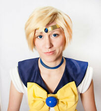 Sailor Uranus Smooth Blue Gem Metal Cosplay Tiara