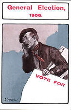 Advertising Poster Style. David Allen. General Election Vote For... by A.Morrow.