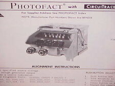 1969 FORD GALAXIE 500 500XL CONVERTIBLE LTD AM-FM RADIO SERVICE SHOP MANUAL 69