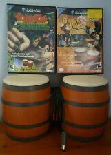 Donkey Konga and Donkey Kong Junglebeat with Bongos (Nintendo GameCube, 2004)