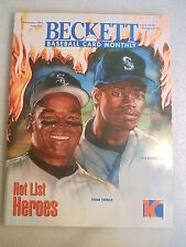 1994 Beckett Baseball Card Monthly magazine Frank Thomas Ken Griffey Jr. #116