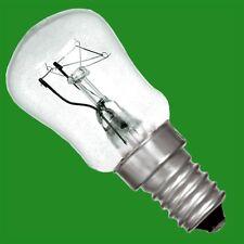 10x 15W Refrigerator Fridge, Freezer, Appliance Pygmy Light Bulbs SES, E14 Lamps