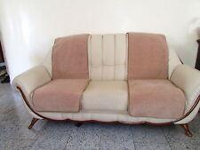 Sesselschoner - 2 Stück Sesselauflage Überwurf, Alpaca wolle 50x200