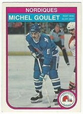 1982-83 OPC HOCKEY #284 MICHEL GOULET - EXCELLENT+