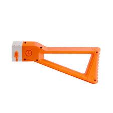 Worker Mod Shoulder Stock Replacement For Nerf N-strike Elite  Orange Color