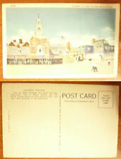 U.S.A.@ CHICAGO WORLD'S FAIR- COLONIAL VILLAGE - F.P.- not circulated-
