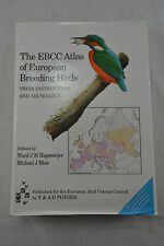 The EBCC Atlas of European Breeding Birds: Their Distribution and Abundance...