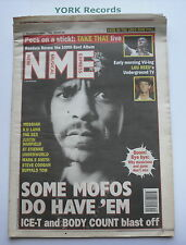 NEW MUSICAL EXPRESS NME - December 11 1993 - ICE-T / LOU REED / MESSIAH