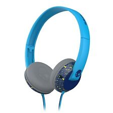 Skullcandy Uprock 2.0 Supreme Sound Stereo Headphones with Mic Blue Lime