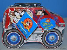 2001 Taz Monster Truck Lunch Tin NEW never used! Still SEALED!