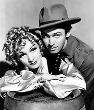 MARLENE DIETRICH & JAMES STEWART UNSIGNED PHOTO - 8675 - DESTRY RIDES AGAIN