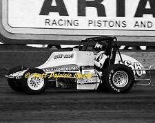 1980 BUBBY JONES 8 X 10 CRA SPRINT CAR PHOTO FROM ASCOT