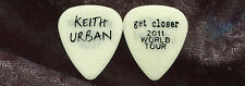 KEITH URBAN 2011 Get Closer Fan Club Only Guitar Pick!!! No Longer Available #5