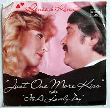 "7"" Single R - JUST ONE MORE KISS - Renée & Renato"