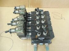 Schrader Bellows 5 Solenoid Valve Bank C511ABB53A 150 PSI Used