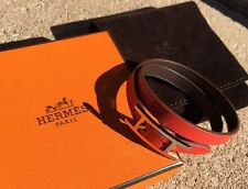 Behapi Double Tour Hermes Reversible Leather Bracelet Api Hapi