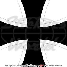 ALLEMAGNE Force Aérienne Avion Cocarde 100mm Sticker Autocollant