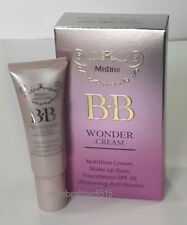 KOREAN BB CREAM MISTINE WONDER MAKE-UP BASE FOUNDATION SPF30 COVER BLEMISHES 15G