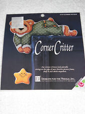 Slumbers the Bear Corner Critter Cross Stitch Kit by Designs for the Needle