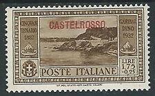 1932 CASTELROSSO GARIBALDI 1,75 LIRE MH * - W282
