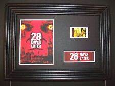 28 DAYS LATER Framed Movie Film Cell Memorabilia Compliments poster dvd book