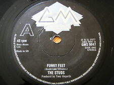 "THE STUDS - FUNKY FEET  7"" VINYL"