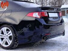 Rear Lip Mugen Style & Front Lip Type-S Style for Honda Accord 8 / Acura TSX CU2