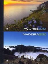 Azores + Madeira - 2010 año marcas cuadernos 22 23 con Europa cept **