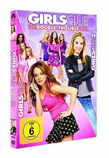 GIRLS CLUB 1+2 THE DOUBLE TROUBLE PACK - LINDSAY LOHAN, TINA FEY -  2 DVD NEU