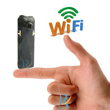 black screw smallest Wireless IP Network spy nanny micro DIY camera recorder cam
