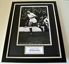 Bill Beaumont Signed FRAMED 16x12 Photo Mount display England Rugby PROOF COA