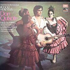 DON QUIXOTE: Rudolph Nureyev's film S/T 1973 EMI LP CSD3749  cond.John Lanchbery