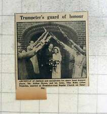 1949 Trumpeter Guard Of Honour Arthur Dyson And Ruby Mustchin Worthing