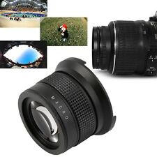 0.35X58MM Camera Super HD Wide Angle Fisheye Lens With Macro for Canon EOS IM